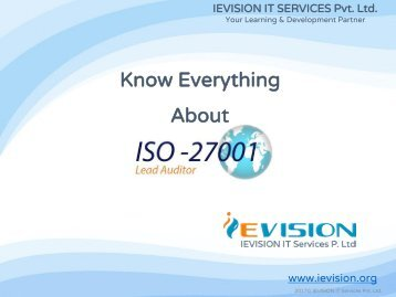 how to become an iso 27001 auditor