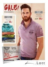 Herren - Polo-Shirts Sale!