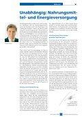 Unabhängig: Nahrungsmit- tel- und Energieversorgung - Seite 3