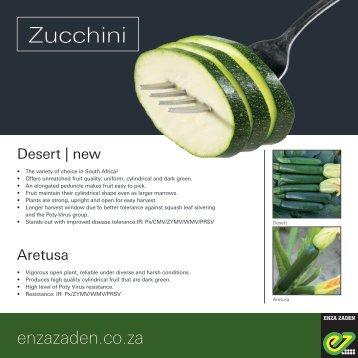 Leaflet Zucchini 2018