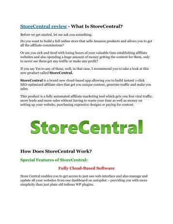 StoreCentral review-(SHOCKED) $21700 bonuses