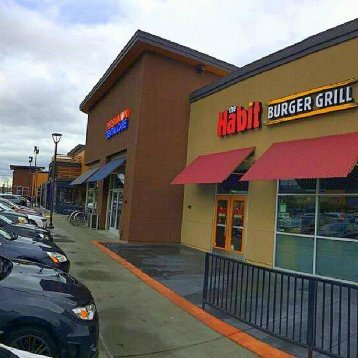 The Habit Burger Grill on Martinelli Way Dublin CA is right next to Persimmon Dental Care