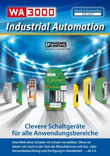 WA3000 Industrial Automation Juli 2017