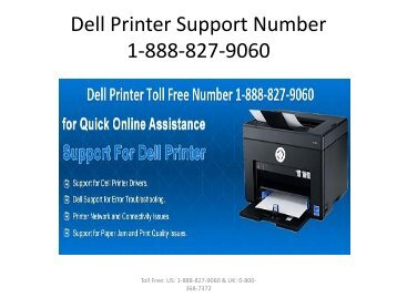 Dell Printer Support Number 1-888-827-9060