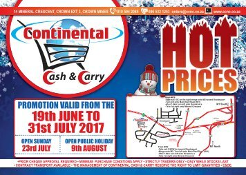CONTI Nat Cat 19 JUN-31 JUL 2017