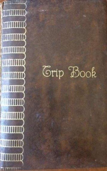 1965 Canada Trip Book