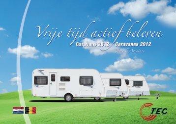 Caravanes 2012 - TEC Caravans