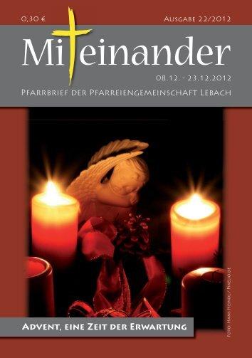 """""""mitgeteilt"""" """"vorausgegangen"""" - Lebach Hl. Dreifaltigkeit und St. Marien"""