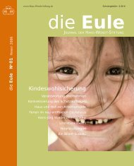 Eule - Hans-Wendt-Stiftung Bremen