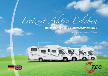 Motorhomes 2012 - TEC Caravans