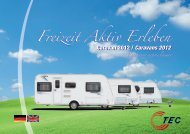 Freizeit Aktiv Erleben - TEC Caravans
