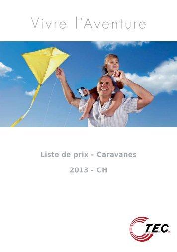 Instructions importantes - TEC Caravans