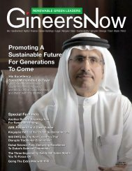 Renewable Green Leaders Magazine: Promoting a Sustainable Future for Generations to Come by Dubai Electricity and Water Authority (DEWA)