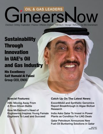 Oil & Gas Leaders Magazine: Sustainability Through Innovation in UAE's Oil and Gas Industry
