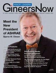 HVACR Leaders Magazine: Meet the New President of ASHRAE, Bjarne W. Olesen