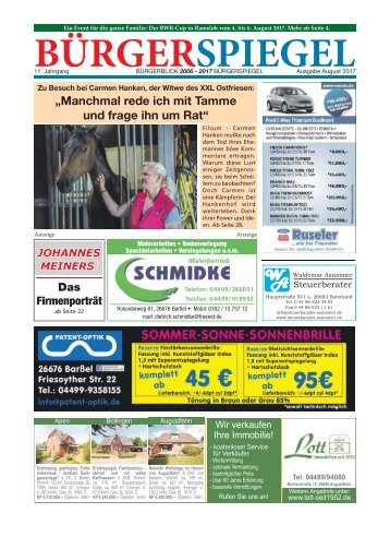 August 2017 | Bürgerspiegel