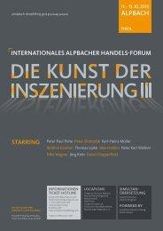 PDF Die Kunst der Inszenierung - Umdasch - Shop Concept