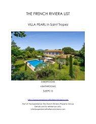 Villa Pearl - Saint Tropez