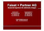 R di F i uedi Faisst Ruedi Faisst - Faisst+Partner AG