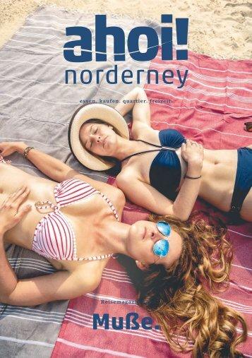 ahoi! norderney Magazin #26