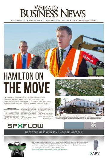Waikato Business News July/August 2017