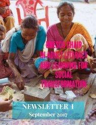 UNESCO Chair Newsletter I Sept17