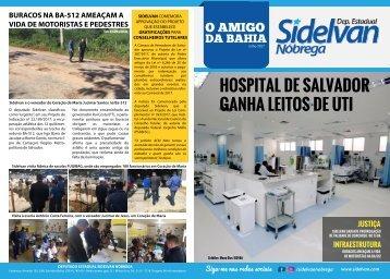 Jornal Sidelvan capa e fundo
