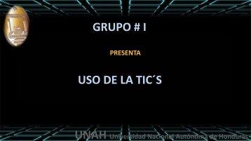 Presentacion Uso de las TICS -AVANCE 2