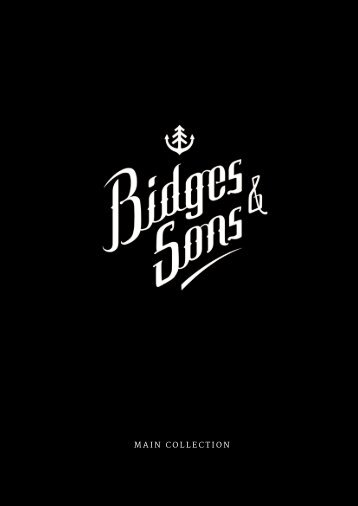 Lookbook Main Collection by Bidges & Sons