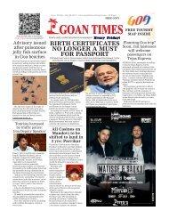 GoanTimes July 28th 2017 Issue