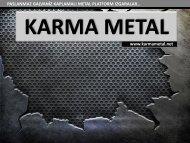 KARMA METAL metal centikli izgara fabrika yolu izgarasi tam gecme izgara yarim gecme izgara cesitleri