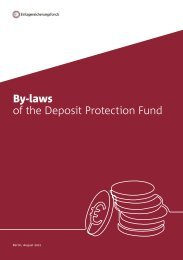 By-laws of the Deposit Protection Fund of the Association of German Banks (Feb 2020)