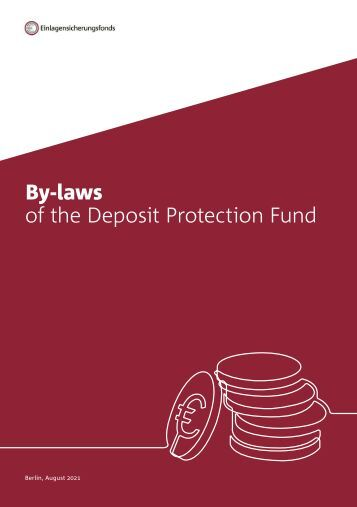 By-laws of the Deposit Protection Fund of the Association of German Banks (Oct 2017)
