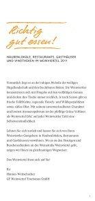 Kulinarische Gastgeber im Weinviertel - Jakobsweg Weinviertel - Seite 3