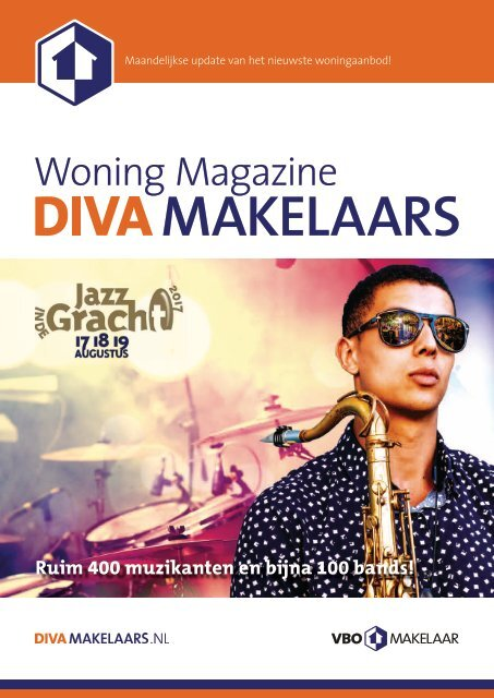 DIVA Woningmagazine #8, augustus 2017