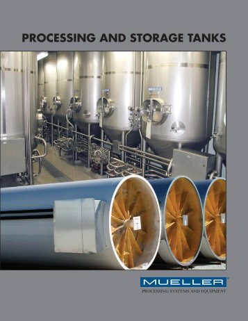 processing and storage tanks - Paul Mueller Company