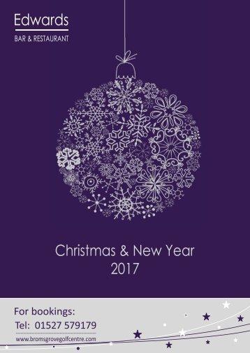 Christmas Brochure 2017