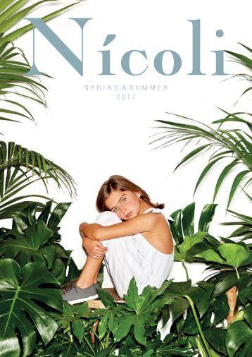 CATÁLOGO NICOLI SPRING  SUMMER 2017