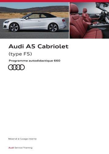 SSP 660 Audi A5 Cabriolet type F5