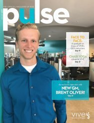 VIVE Health & Fitness   August Pulse