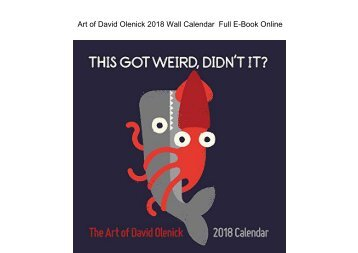 Art of David Olenick 2018