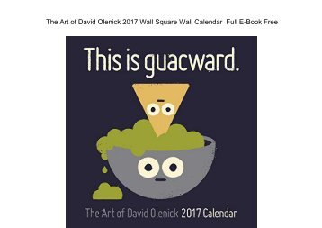 The Art of David Olenick