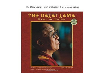 The Dalai Lama Heart of