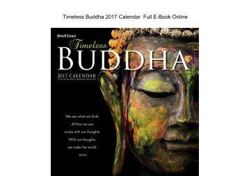 Timeless Buddha 2017