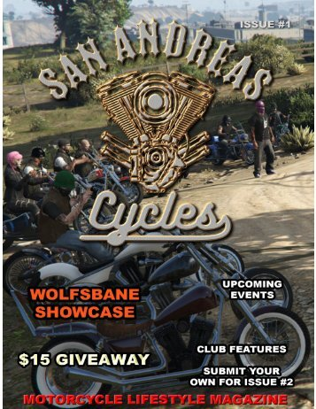 San Andreas Cycles Issue #1