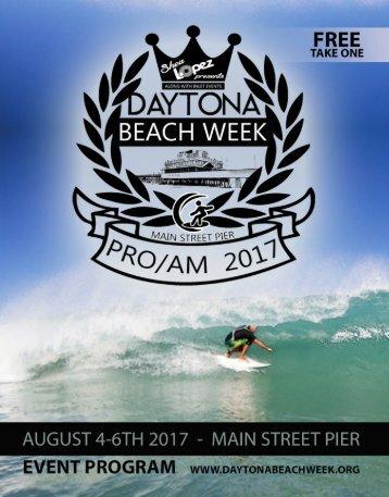 Daytona BEACH WEEK event program
