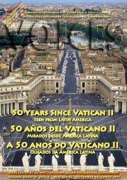 50 AñOs DEL VATIcANO II - EATWOT's International Theological ...