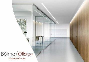 Cam Cama Bölme Ofis Fiyat Teklifi- DENİZ YAVUZ 2