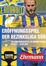 20170520 Fuggermärktler TSV 1862 Babenhausen - FC Heimertingen