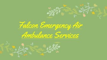 Medical Rescue by Air Ambulance Vellore